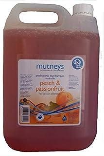 Mutneys Professional Pet Care Peach and Passionfruit Dog Shampoo, 5 Litre