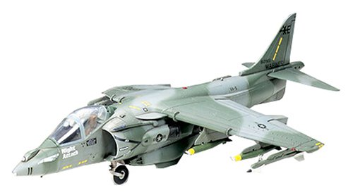 タミヤ 1/72 ウォーバードコレクション No.21 アメリカ海兵隊 マクダネル ダグラス AV-8B ハリアーII プラモデル 60721