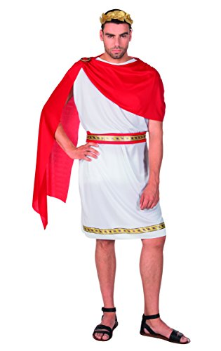 Boland 83805 Costume Jules César pour Adultes, Blanc
