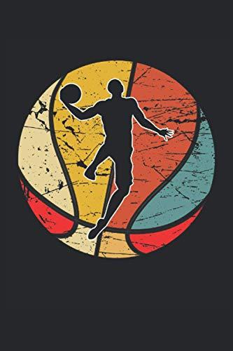 Basketball: Taccuino a righe quaderno di scrittura diario ToDo libro dei compiti libro di storia  15,24 x 22,86 cm; ca. A5  120 pagine. Per amante del ... streetball dunk slamdunk squadra di basket.