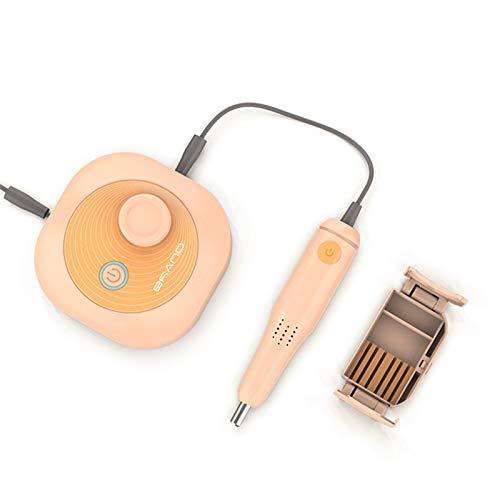 Máquina de manicura RPM35000 Speed Ajustable Profesional PORTÁFORTE Portal DE TALNE DE Nueva para CLAVAS DE Arte DE LOS NUEVOS bits DE TRIMEN (Color : Orange)