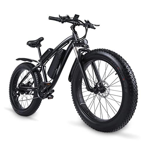 Bicicleta eléctrica 1000w Bicicleta de montaña para hombre Bicicleta de nieve Aleación de aluminio Bicicleta eléctrica Ebike 48v17ah Bicicleta eléctrica 4.0 Neumático gordo Bicicleta eléctrica