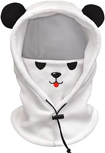 FCY Toddler Kids Balaclava Face Mask Boys Girls Reusable Washable Cloth Full Face Masks Windproof product image