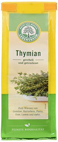 Lebensbaum Thymian, gerebelt und getrocknet, 20 g