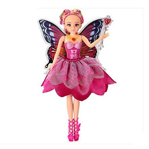 Puppe-Spielzeug-Schmetterlings-Fee-Puppe nette Puppe Geschenkset