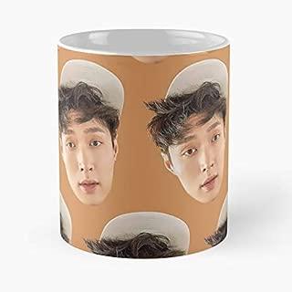 Kpop Merchandise Sm Entertainment Exo Lay Coffee Mugs Unique Ceramic Novelty Cup