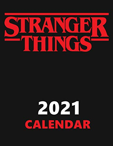 Stranger Things. Calendar.: Stranger Things Planner, Strange