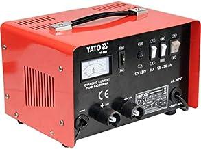YATO YT-8304 - cargador de batería de 12 / 24v 25a