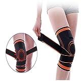 Xinleijd Praktischer Knieschutz Kompression atmungsaktive Sporttraining Support(None L 1) -