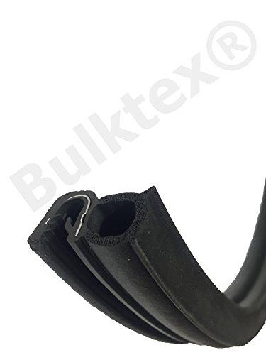 Original Bulktex® Fenstergummi Sportboot Scheibengummi Profilgummi Dichtgummi Dichtung Boot Gummi 4mm 5mm 6mm