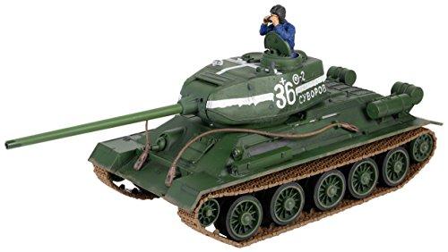 Forces Of Valor 1/24 RC Radio Control Soviet T-34/85 Tank # 372002