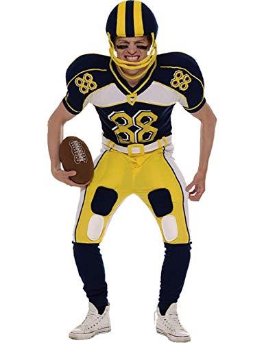 ORION COSTUMES Disfraz Uniforme de Jugador de Fútbol Americano para Hombres