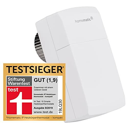 Homematic IP Smart Home Heizkörperthermostat – kompakt – intelligente Heizungssteuerung per App, 151239A0
