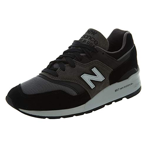 New Balance - Mens Made in The USA ML997CV1 Classics Shoes, Size: 8 D(M) US, Color: Black/Grey
