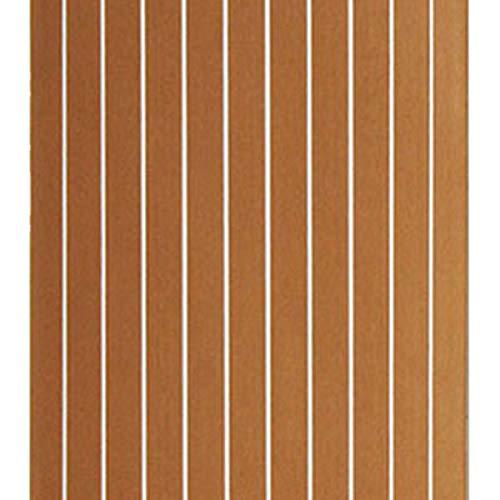 RFElettronica Moquette Carpet 600x2400x5mm Marine Flooring Faux Teak EVA Foam Boat Decking Sheet