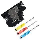 MMOBIEL Altoparlente Compatibile con iPhone XS 5.8 Pollici Cavo assemblaggio Altoparlante suoneria motorino Vibrazione di Ricambio incl. cacciavite