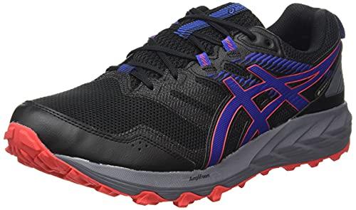 Asics Gel-Sonoma 6 G-TX, Zapatillas para Carreras de montaña Hombre, Black/Monaco Blue, 42.5 EU