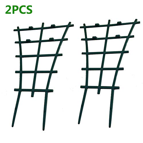 Plant Climbing Frame Garden Plastic For Peas A Pair Plant Support Trellis 2Pcs /4 Pcs/6 Pcs Plant Growing Support Can Be Used For Indoor And Outdoor Small Plants To Assemble Heightened Flower Stand