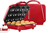 Holstein Housewares HU-09006R Full Size Cupcake Maker, Makes 12, Red