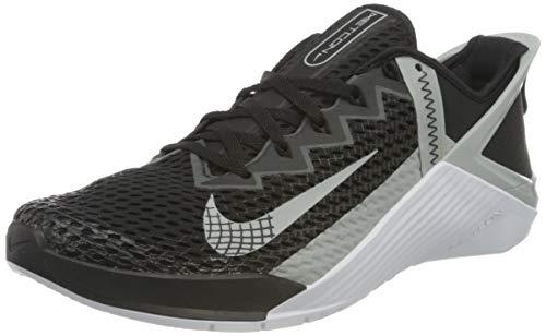 Nike Metcon 6 FLYEASE, Scarpe da Calcio Unisex-Adulto, Black/lt Smoke Grey-White, 44.5 EU