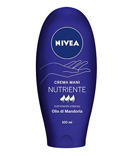 Nivea Crema Mani Nutriente NutriMento Intenso con Olio di Mandorla, 100 ml