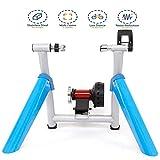 QXT Rullo per Allenamento Magnetico Pieghevole, Rullo per Bicicletta per Allenamento in Ca...
