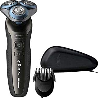 Philips Shaver Series 6000 S6640/44 (Black Color): Amazon.es ...