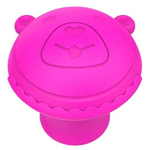 Interessante Face-Lift-uitrusting, handmatig wiel, nasolabiale plooien compact heffen gezichtsmassage gaan Baby Bear Rose Red