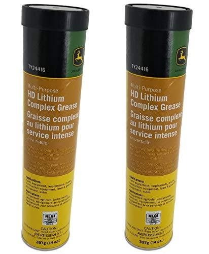 John Deere Multi-Purpose HD Lithium Complex Grease (Set of 2) - TY24416