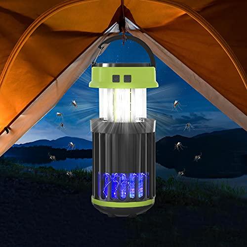 Lampada Antizanzare Elettrica: UV Lampada Antizanzare - Mosquito Killer da Interni Zanzariera Elettrica con Luce Repellente Zanzare Elettrica Atossica