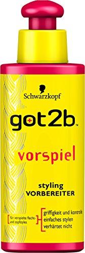 got2b Styling-Vorbereiter vorspiel, 2er Pack (2 x 100 ml)