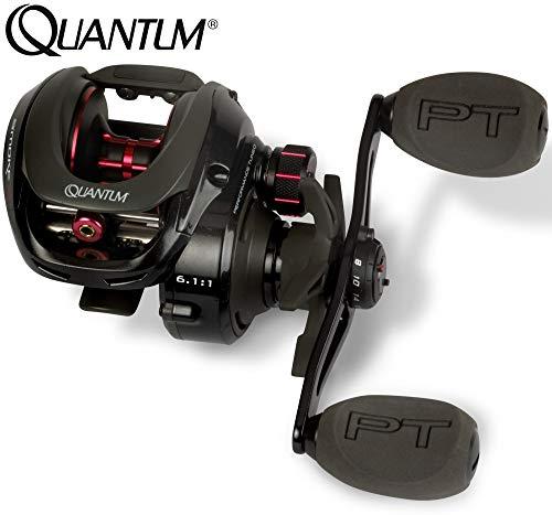 Quantum Smoke S3 LH 101 HPT - Baitcaster Multirolle zum Spinnfischen auf Hechte, Zander & Barsche, Spinnrolle, Baitcasterrolle