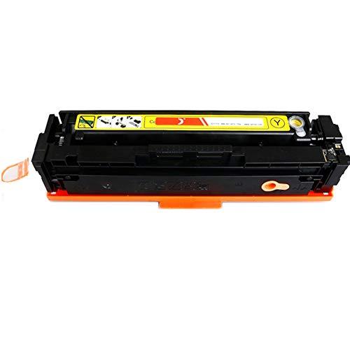 CF400A 401A 402A 403A compatibele vervangende tonercartridge voor HP LasreJet pro M252 277n 277dw serie printer, Het effect is vergelijkbaar met het origineel size Geel