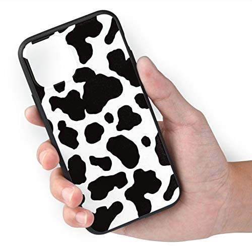 King Dare Compatible with iPhone 11 Case, Soft TPU Shell Full Protective, Cow Print iPhone 11 Case 6.1 Inch for Girls/Women