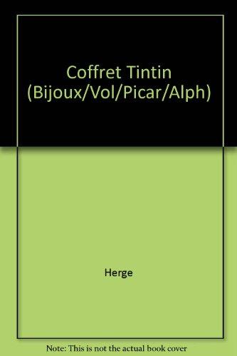 Coffret Tintin (Bijoux/Vol/Picar/Alph)
