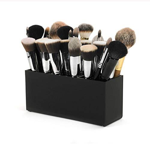 Penseel en Eyeliner Make-up Opbergdoos Make-up Tool Opbergdoos 3 Slot Wenkbrauw Potlood Houder Lipstick Stand