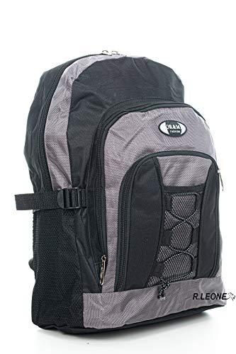 Ormi Zaino per Sport Viaggio Scuola Lavoro per MacBook PRO, iPad e Notebook 512 (Grigio)