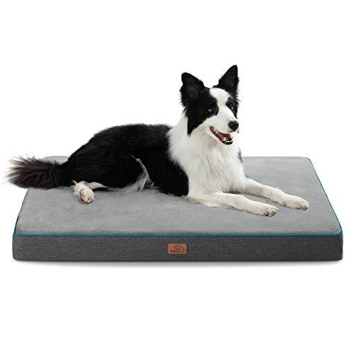 cama viscoelastica perro de la marca Bedsure