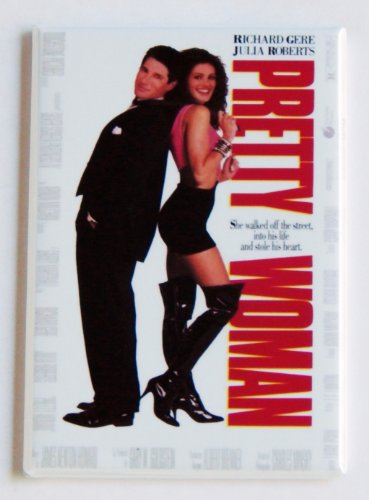 Pretty Woman Movie Poster Fridge Magnet (2 x 3 inches)