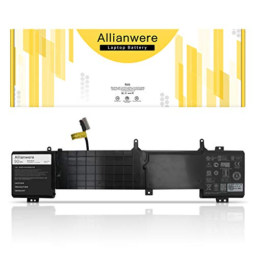 Allianwere 6JHDV Laptop Battery Compatible with Dell Alienware 17 R2 17 R3 ALW17ED P43F Series Ultrabook Notebook 6JHDV 6JHCY 5046J 06JHDV 05046J YKWXX