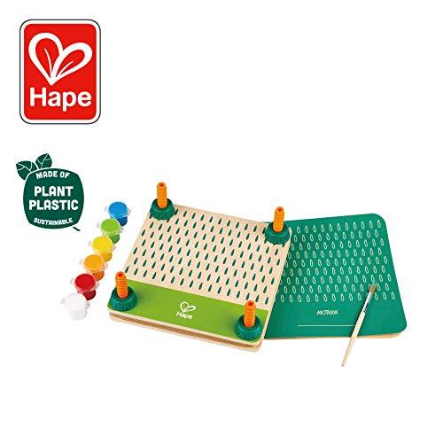 Hape DIY Flower Press Art Kit| Wooden & Plant Plastic Art Flower Press for Children Ages 5 & Up