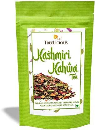 Beyon Treelicious Kashmiri Challenge Nippon regular agency the lowest price Kahwa Chai Cinna Detox Saffron Rose