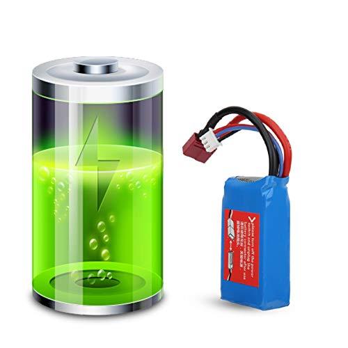 Cuque Regalos de Mayo Batería de 7.4 V 1500MAH, A959-B A969-B A979-B K929-B Piezas de Juguetes RC Accesorios de Coche de Control Remoto, para WLtoys de Control Remoto