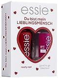 essie Geschenkset Lieblingsmensch Nagellack 60 really red inkl. good to go Überlack, 1 Stück