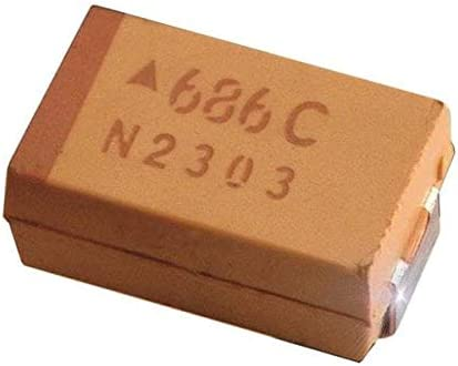 Tantalum Large-scale sale Capacitors - Solid SMD 10UF Pa 800 Now free shipping ESR 10% 25V 6032-28