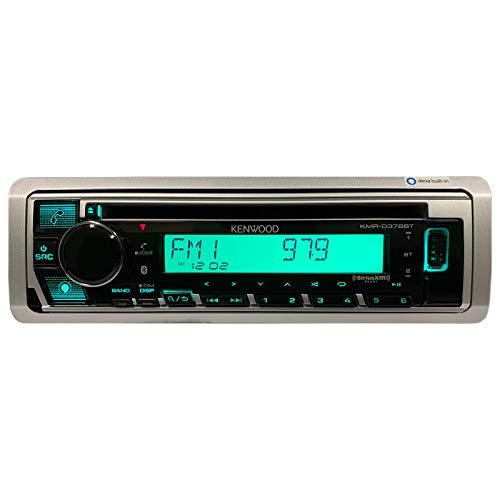 Kenwood KMR-D378BT Marine CD Receiver Boat Stereo, Alexa, Bluetooth, Aux, Sirius