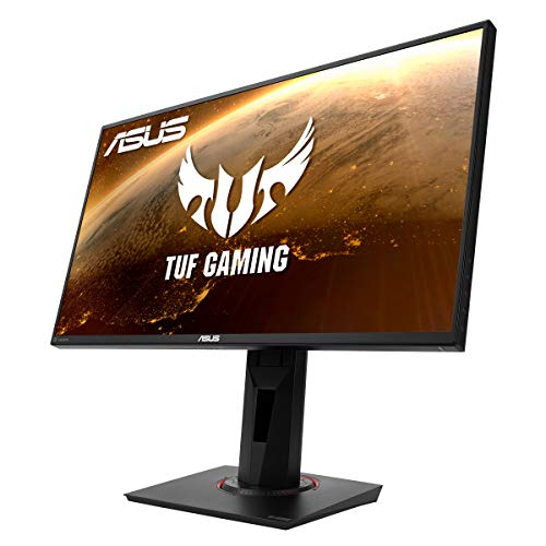 ASUS TUF Gaming VG258QM Gaming Monitor - 24.5 inch Full HD (1920x1080), 280Hz*, 0.5ms (GTG), Extreme Low Motion Blur Sync, G-SYNC Compatible, DisplayHDR™ 400