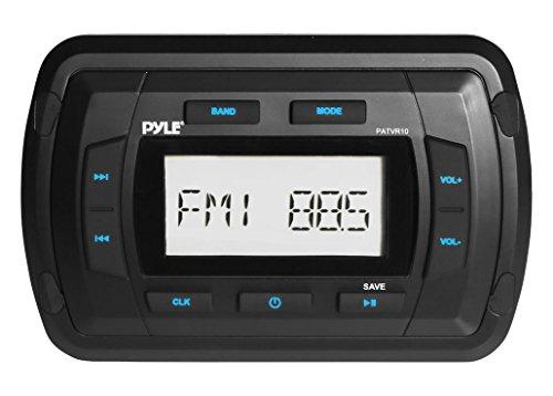 Pyle Patvr10Pyle Marine Bluetooth Radio Empfänger, wasserabweisendes Stereo Head Unit, MP3/USB/AUX