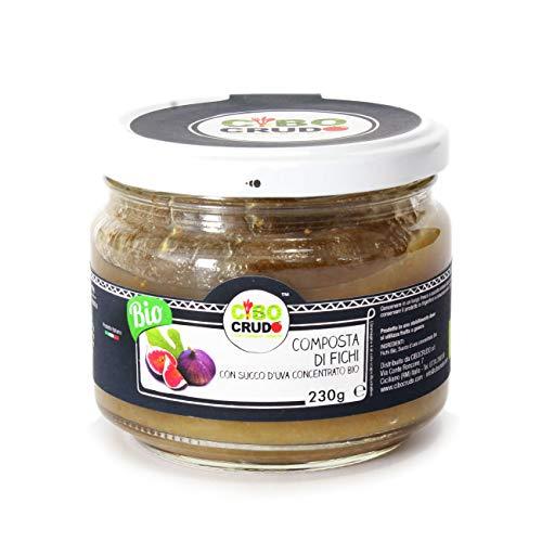Cibocrudo Composta di Fichi con Succo d'Uva Concentrato Bio.. - 230 gr