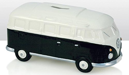 pequeño y compacto Hucha de cerámica negra VW Volkswagen Van